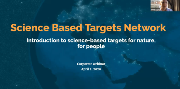 Introduction to setting science-based targets for nature